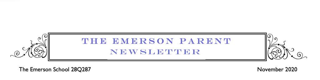 November Parent Newsletter
