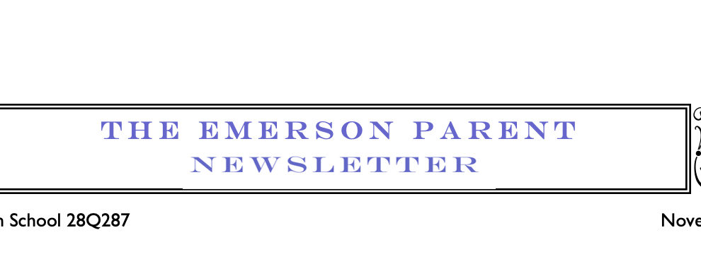 November Parent Newsletter