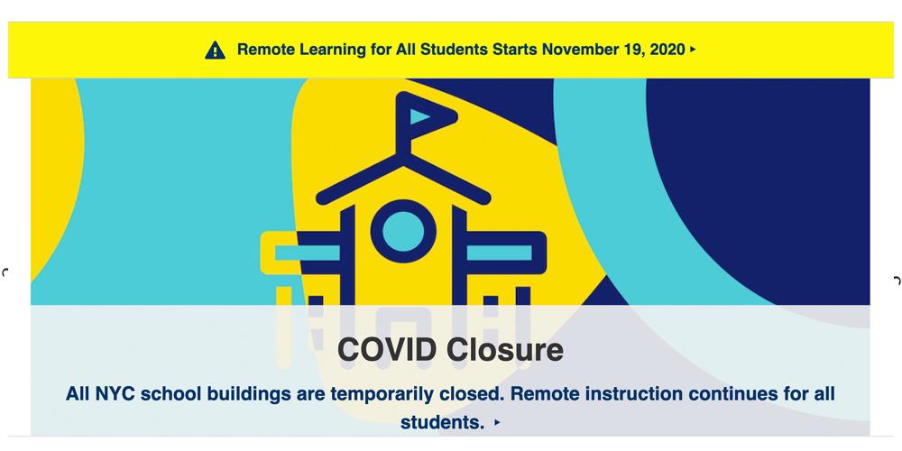 Covid 19 Closure
